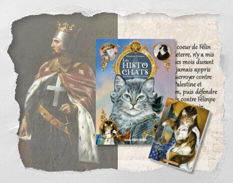 Richat 1er, coeur de Félin, un histochat inventé pour le Concours Histochats