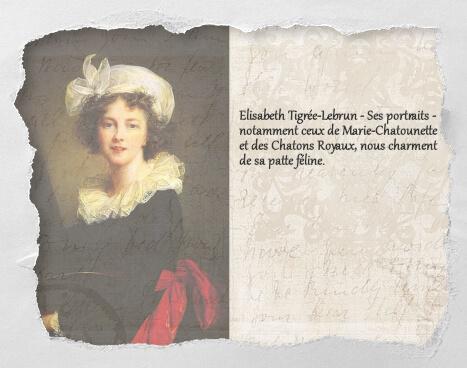 Elisabeth Tigrée-Lebrun, un histochat du concours Histochats de Séverine Pineaux