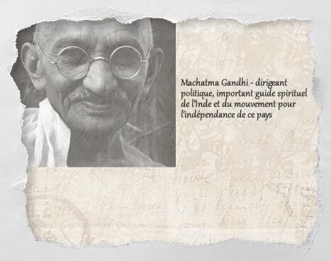 Machatma Gandhi, un histochat du concours Histochats de Séverine Pineaux