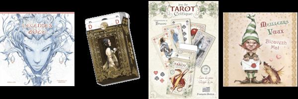 Brucero : calendrier, cartes de vœux, jeux...